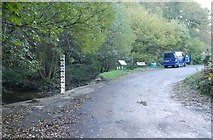 NZ8704 : Ford at Littlebeck by Robert Blake