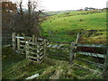 SE0612 : Kissing gate on the Colne Valley Circular Walk by Humphrey Bolton