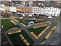 SX9292 : Exeter Christmas Market preparations by David Hawgood