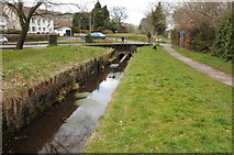 ST2896 : Approaching Five Locks Road by Philip Halling