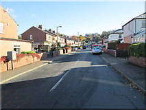 SE1421 : Scholey Road - Rastrick Common by Betty Longbottom