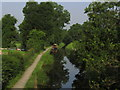 SJ3024 : Montgomery Canal at Maesbury Marsh by Colin Park