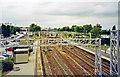 SK1309 : Lichfield Trent Valley (Low Level) station, 2002 by Ben Brooksbank