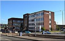 SK3487 : HSBC Offices, Hoyle Street, Shalesmoor, Sheffield - 1 by Terry Robinson