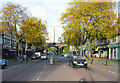 TQ2763 : Carshalton Beeches:  Looking north along Banstead Road by Dr Neil Clifton