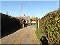 TM2460 : Entrance of Brandeston Village Hall by Adrian Cable