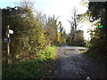 TM2560 : Bridleway to Monewden Hall by Adrian Cable