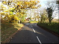 TM2560 : Old Maids' Lane, Brandeston by Adrian Cable