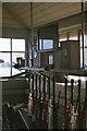 J4582 : Helen's Bay signal cabin - interior - 1971 by The Carlisle Kid