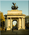 TQ2879 : Wellington Arch by Julian Osley
