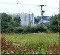 SO8169 : Storage tanks on an industrial estate by Mat Fascione