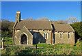 SN1415 : Llanddewi Velfrey parish church by Dylan Moore