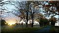 ST8066 : November sunset by Jonathan Billinger