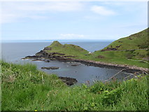 C9444 : Portnaboe and the Great Stookan headland by Eric Jones