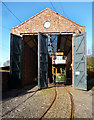 SO9491 : Tram Shed at the Museum by Des Blenkinsopp
