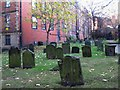 NZ2464 : St. Andrew's Church, Newgate Street, NE1 - churchyard by Mike Quinn