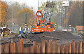 J3371 : Crane, River Lagan, Belfast by Albert Bridge