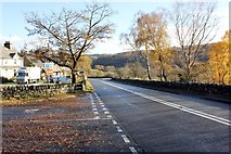SH7357 : The A5 at Pont-Cyfyng by Jeff Buck
