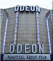 TQ2889 : Facade, Odeon cinema, Muswell Hill by Julian Osley