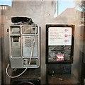 SJ9594 : Vandalised phone by Gerald England