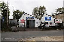 TQ1979 : Smallbills Garage by Martin Addison