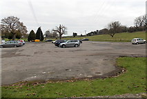 ST7681 : Spacious hotel car park in Old Sodbury by Jaggery