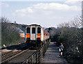J4582 : Train approaching Helen's Bay station - 1988 by The Carlisle Kid
