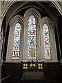 NZ2464 : The Church of St. Thomas The Martyr, Barras Bridge / St. Mary's Place, NE1 - altar and east window by Mike Quinn