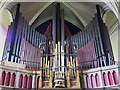 NZ2464 : The Church of St. Thomas The Martyr, Barras Bridge / St. Mary's Place, NE1 - organ by Mike Quinn