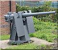 SK5906 : Gun at TS Tiger, Leicester Sea Cadets by Mat Fascione