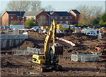 SO9098 : City regeneration near Chapel Ash, Wolverhampton by Roger  Kidd