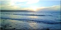 SM8513 : Evening light, Broad Haven beach by Gordon Hatton