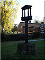 TG2303 : Caistor Village sign by Adrian Cable