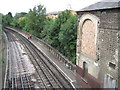 TQ1477 : Osterley Park & Spring Grove railway station (site), Greater London by Nigel Thompson
