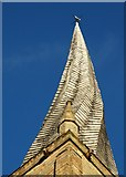 SK3871 : Chesterfield's famous crooked spire by Neil Theasby