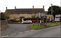 ST8080 : Village centre, Acton Turville by Jaggery