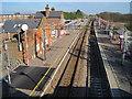 TQ6288 : West Horndon railway station, Essex by Nigel Thompson