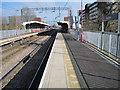 TQ7088 : Basildon railway station, Essex by Nigel Thompson