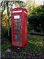 TM2693 : Telephone Box on Church Road by Adrian Cable