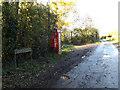 TM2693 : Church Road & Church Road Postbox by Geographer