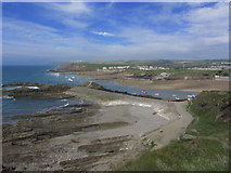 SS2006 : Summerleaze Beach & Chapel Rock - view from northern slopes of Efford Beacon, Bude by Colin Park
