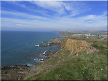 SS2006 : View N along coast from Efford Beacon near Bude by Colin Park