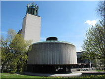 NZ2465 : Newcastle Civic Centre - council chamber by Mike Quinn