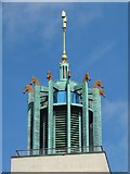 NZ2465 : Newcastle Civic Centre - turret by Mike Quinn
