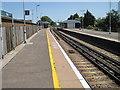 TQ0004 : Ford railway station, Sussex by Nigel Thompson
