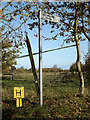 TM2891 : Roadsign on Dulgate Road by Adrian Cable