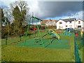 SO4703 : Children's playground in Llanishen by Jaggery