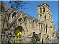 NZ2565 : Jesmond Parish Church, Eskdale Terrace, NE2 by Mike Quinn