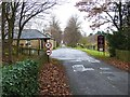 NZ2177 : Entrance to the Blagdon Estate by Oliver Dixon