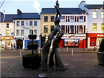 H4572 : Balance, Market Street, Omagh by Kenneth  Allen